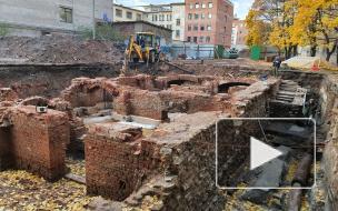 Как выглядит старинный рынок, найденный под землей в центре Петербурга