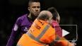Видео: Во время матча на вратаря напал болельщик соперни...