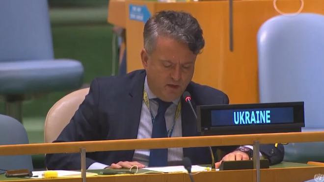 Постпред Украины рассказал в ООН свою версию Второй мировой войны