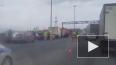 Жуткое видео из Петербурга: водитель легковушки скончался ...