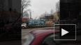 Видео: на Обуховской обороне столкнулись четыре автомоби...
