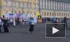 """Появилось видео: на Дворцовой площади начался """"Хоровод мира"""""""