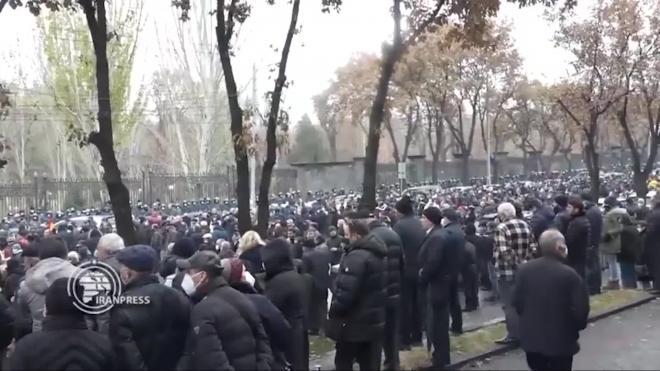 В Армении арестованы около 40 участников акций протеста