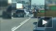 На съезде с Таллинского шоссе столкнулись Volkswagen ...