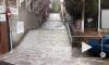 Появилось видео небольшого потопа в Алупке: туристы в шоке