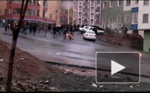 Столкновение курдов с турецкой полицией