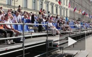 Началась главная регата города - Золотые весла Санкт-Пет...