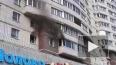 На проспекте Энгельса загорелась жилая квартира