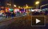 Видео: на Индустриальном проспекте авто вылетело на газон и перевернулось