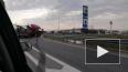 Фура сбила перебегавшую КАД петербурженку