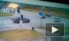 Появилось видео нелепой аварии с участием тюменской автоледи