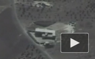 """Опубликовано видео удара крылатыми ракетами """"Калибр"""" по боевикам в Сирии"""