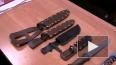 Коллекцию холодного оружия и ружье нашли в квартире ...