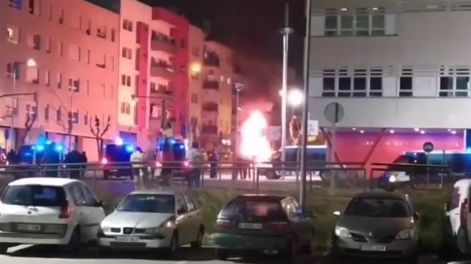 В Каталонии после акции в поддержку осужденного рэпера задержали одного человека