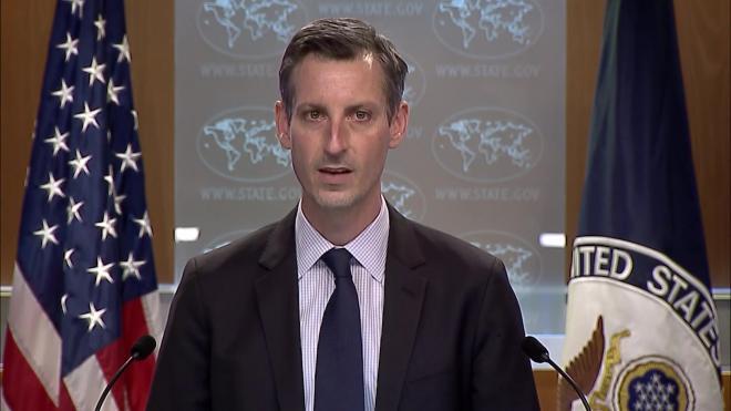 Госдеп США тесно сотрудничает с Европой по ситуации вокруг Навального