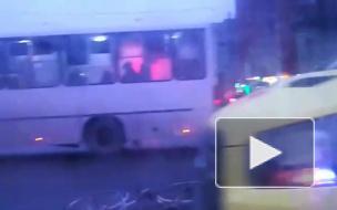 Пожилой пешеход пострадал в ДТП на пересечении Культуры и Луначарского