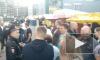 Общение жителей Кудрово с представителями стихийного рынка закончилось беспорядками