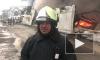Пожар на складе в Колпинском районе локализован