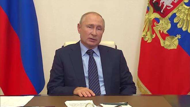 Путин заявил о замалчивании экологических проблем в Иркутской области