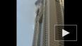 В Дубае сгорел самый высокий небоскреб в мире
