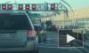 Видео: Молодой человек проехался на скейте по ЗСД среди потока машин
