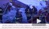 Видео из Внуково: Ту-204 выкатился на шоссе, загорелся и развалился