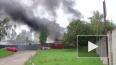 Пожар в Красногвардейском районе: клубы дыма затянули ...