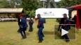 Видео: в Гане во время плясок на похоронах уронили ...