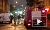 Появилось видео падения горящего мужчины с крыши на Боровой