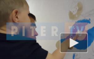 Видео: волонтёры украсили детскую поликлинику на Костюшко героями сказок