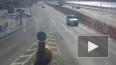 На Пироговской набережной произошла авария с участием ...