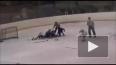 Хоккеисты Магнитки и Барыса устроили побоище на льду