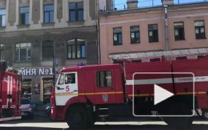 Посетителей отеля на Лиговском эвакуировали из-за сообщения о бомбе
