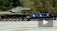 Шварценеггер на личном танке переехал лимузин
