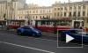 Авария на Лиговском проспекте парализовала движение общественного транспорта