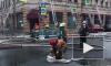 Пожар на Петроградке тушили 28 единиц техники и 130 человек личного состава