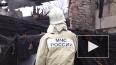 Появилось видео с места пожара в Выборге, где погибли ...
