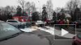 Видео: водитель Audi столкнулся с 12 машинами на Выборгс...