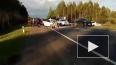 """Видео: страшная авария на трассе """"Кола"""" в понедельник, ..."""