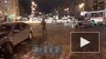 Видео: на Светлановском проспекте столкнулись четыре ...