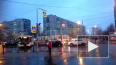 Видео: на углу Белы Куна и Пражской столкнулись автобус ...