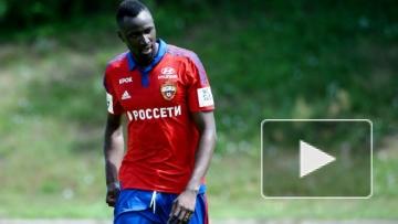 Траоре помогает ЦСКА в товарищеском матче