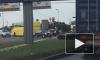 Асфальт отмывали после страшного ДТП с пассажирским автобусом и тремя иномарками