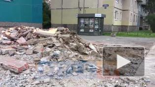 Специалисты ККИ снесли очередной незаконный торговый павильон в Петербурге