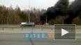 """Видео: на """"Коле"""" горит автомобиль"""