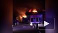 На Парнасной улице ночью горел автосервис