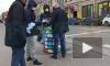 Видео: на Сенной продают маски за 1500 рублей