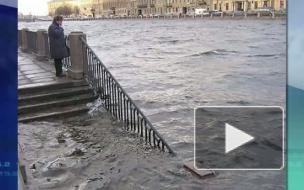 Из-за наводнения петербургскую дамбу вновь закрыли