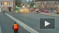 Видео: у моста Бетанкура столкнулись такси и легковушка
