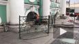 Появилось видео пожара в главном здании Эрмитажа